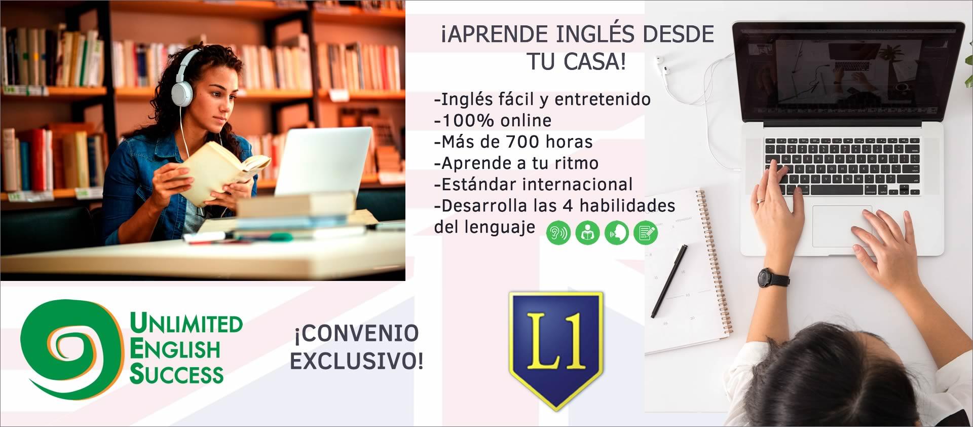 Convenio Unlimited English Success con Liceo 1 se extiende por el verano.