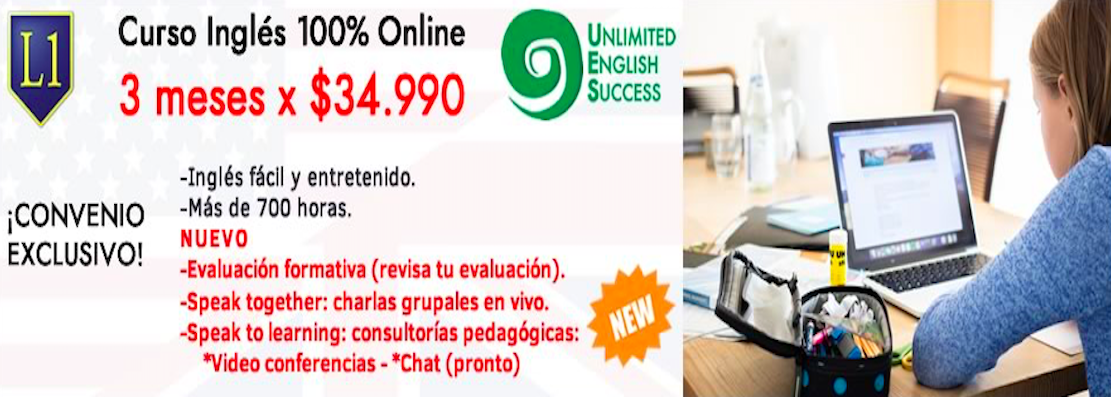 Convenio Unlimited English Success con Liceo 1.